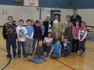 Benjamin Franklin came to visit us!