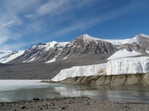 Some study glaciers like this one