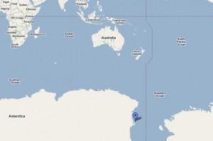 Quinn was located near McMurdo Bay in Antarctica.
